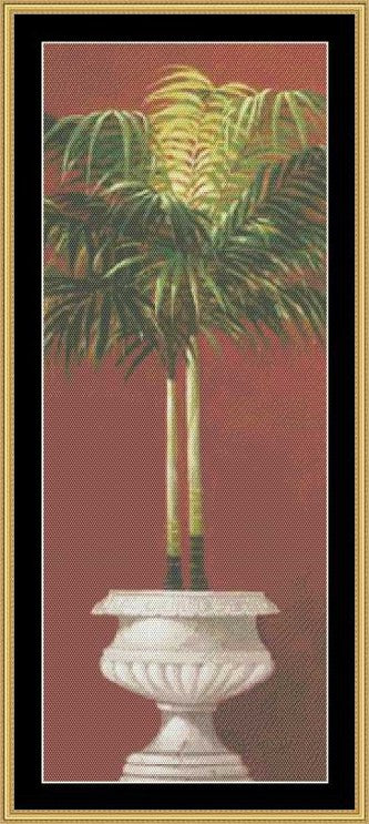 POTTED RED PALM II WEL-05