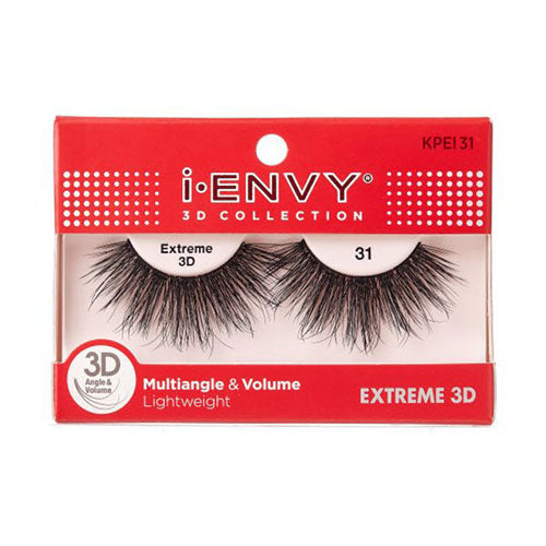 I ENVY EXTREME 3D COLLECTION EYELASHES MULTIANGLE AND VOLUME
