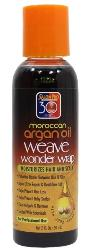 30 Sec Moroccan Argan Oil Weave Wonder Wrap 2 oz - Dark