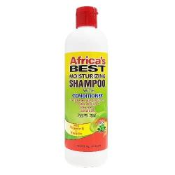 MOISTURIZING SHAMPOO W/ CONDITIONER 12 OZ | AFRICA'S BEST