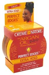 Creme Of Nature Argan Oil Perfect Edges Extra Hold 2.25 oz