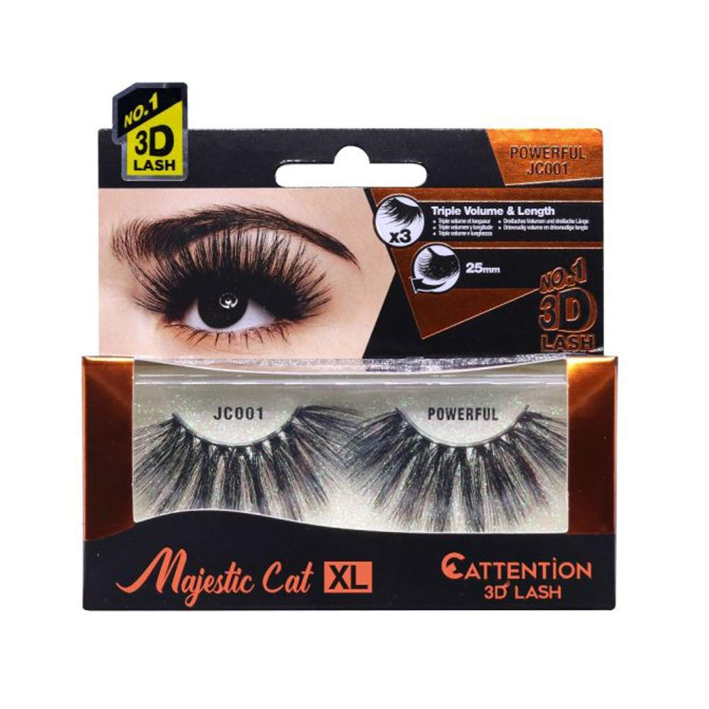EBIN Majestic Cat XL 3D Eyelash 25 mm