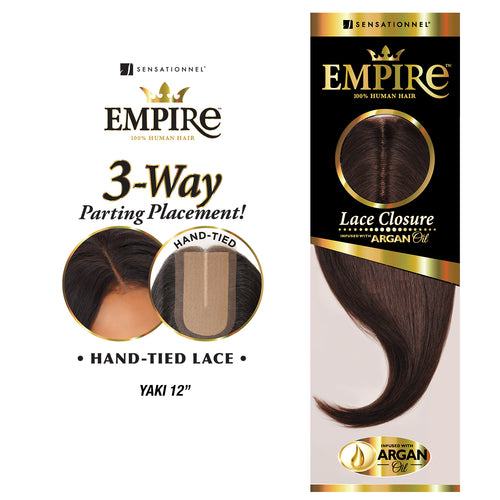 EMPIRE LACE CLOSURE YAKI 12"