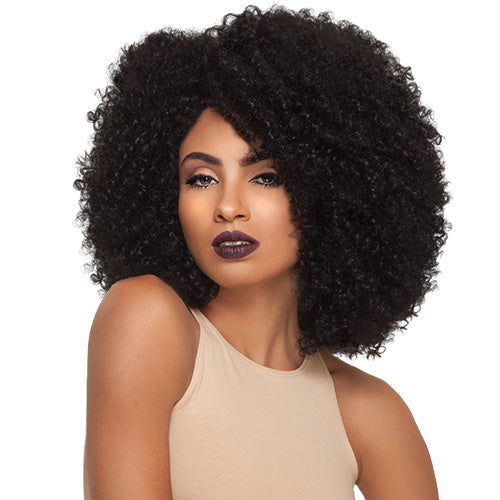 OUTRE SYNTHETIC LACE FRONT WIG BIG BEAUTIFUL HAIR 4A-KINKY