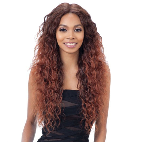 "MODELMODEL SYNTHETIC HAIR WIG 6"" DEEP LACE PART LOLA"