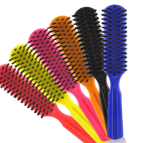PLASTIC BRUSH MIXED COLOR 12 PC