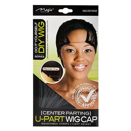 CENTER PARTING U PART WIG CAP DIY | MAGIC