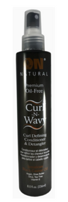 On Natural Curl-N-Wavy Leave-in Conditioner & Detangler 8oz