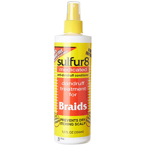 DANDRUFF TREATMENT FOR BRAIDS 12 OZ | SULFUR 8