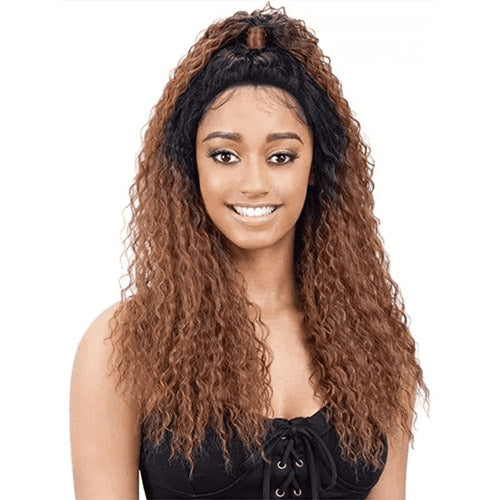GIA HALF-UP LACE WIG | MODELMODEL