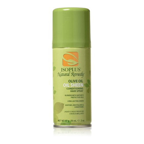 OLIVE OIL SHEEN HAIR SPRAY 2 0Z | ISOPLUS