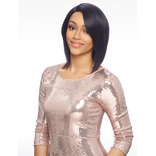 HARLEM125 SYNTHETIC SWISS DEEP PART LACE FRONT WIG LSD79