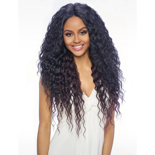 "HARLEM125 SWISS LACE FRONT WIG 6"" DEEP PART LSD61"