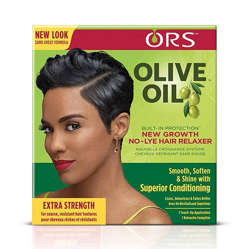 NEW GROWTH NO-LYE HAIR RELAXER EXTRA STRENGTH | ORS