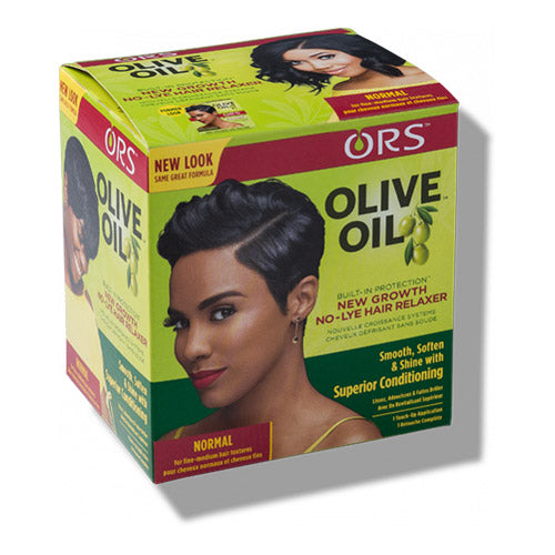 NEW GROWTH NO-LYE HAIR RELAXER NORMAL | ORS