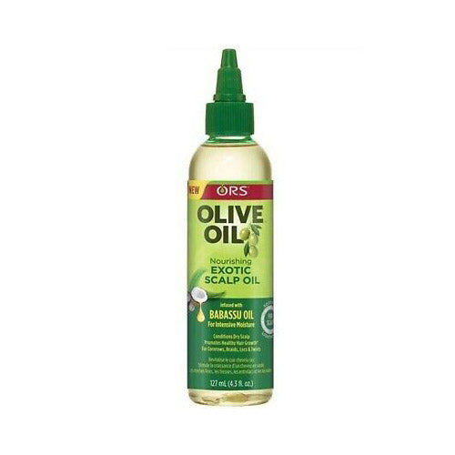 OLIVE OIL EXOTIC SCALP OIL 4.3 OZ | ORS