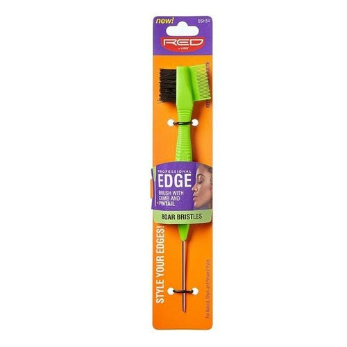 3-IN-1 EDGE BRUSH BOAR FIXER WITH PINTAIL | KISS