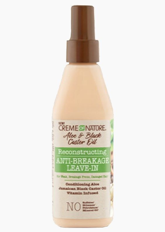 ALOE & BLACK CATOR OIL ANTI-BREAKAGE LEAVE-IN 8 OZ | CREME OF NATURE