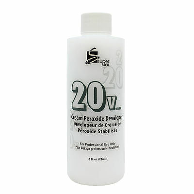 CREAM PEROXIDE DEVELOPER 8 OZ | SUPER STAR