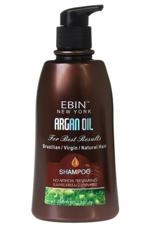 ARGAN OIL SHAMPOO 12 OZ | EBIN