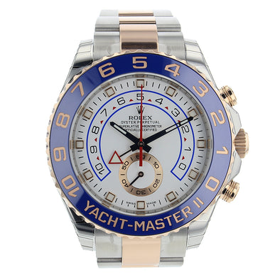 ROLEX YACHT-MASTER II 2 TONE ROSE GOLD 116681 - The Jewels of Beverly Hills
