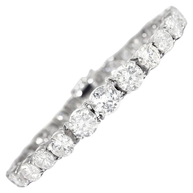 19.47 Carats Diamond Tennis Bracelet