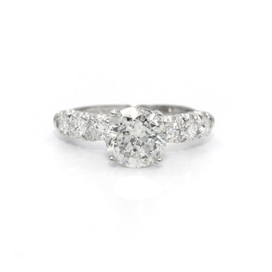 2.85 Carats Diamond Engagement Ring