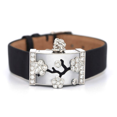 Van Cleef & Arpels Secret Miroir des Eaux Wristwatch