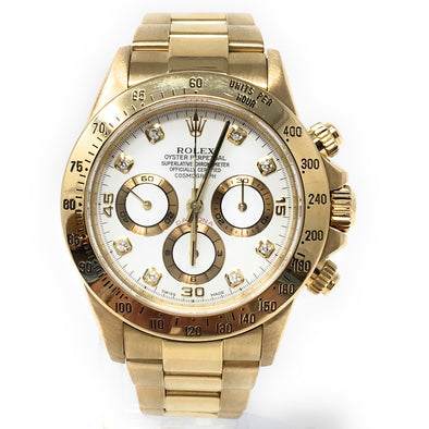ROLEX DAYTONA YELLOW GOLD 116508 WD - The Jewels of Beverly Hills
