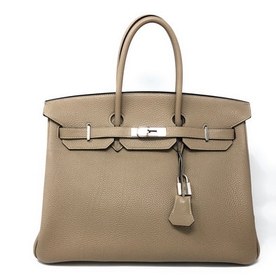 Hermes Birkin 35CM Taupe Togo - The Jewels of Beverly Hills