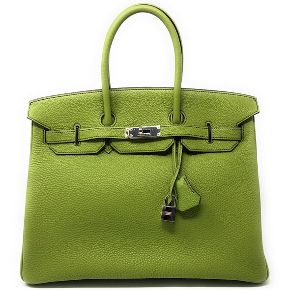 Hermes Birkin 35CM Green Apple - The Jewels of Beverly Hills