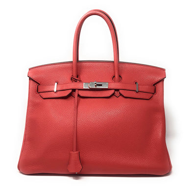 Hermes Birkin 35CM Pink Togo - The Jewels of Beverly Hills