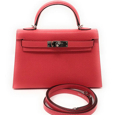 Hermes Kelly 15CM Lipstick Pink - The Jewels of Beverly Hills