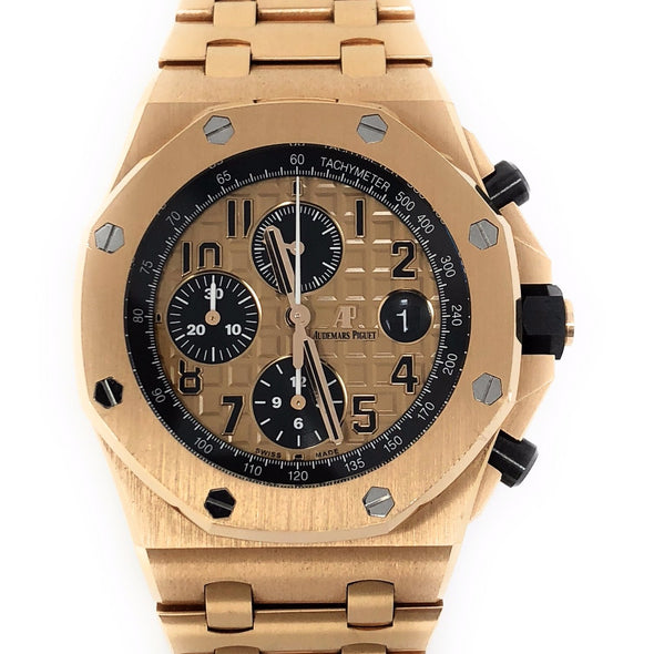 Audemars Piguet Royal Oak Brick Pink Gold 26470OR.OO.1000OR.01 - The Jewels of Beverly Hills