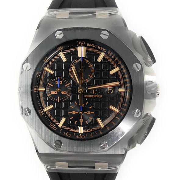Audemars Piguet Royal Oak Offshore Ceramic Rose Gold Markers 26405CE.OO.A002CA.02 - The Jewels of Beverly Hills