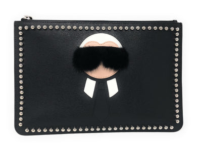 Fendi Karlito Clutch - The Jewels of Beverly Hills