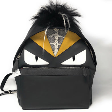 Fendi Monster Backpack - The Jewels of Beverly Hills