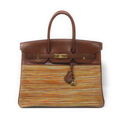 Hermes Birkin 35CM Rainbow - The Jewels of Beverly Hills