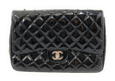 Chanel Large Classic Flip Black - The Jewels of Beverly Hills