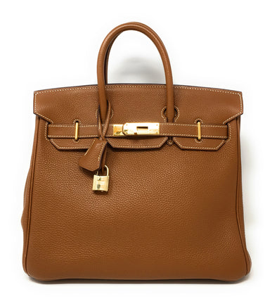 Hermes Birkin 32CM Brown - The Jewels of Beverly Hills