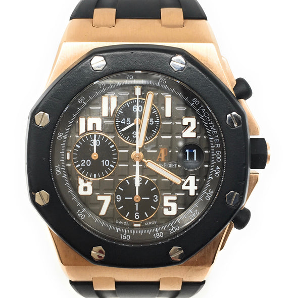 AP ROYAL OAK OFFSHORE ROSE GOLD CERAMIC