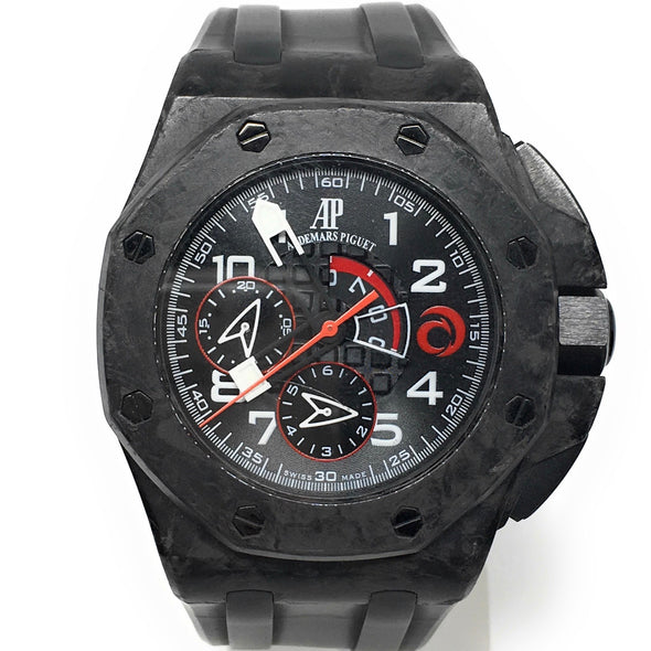 AP ROYAL OAK OFFSHORE FORGED CARBON 26062FS.OO.A002CA.01 - THE JEWELS OF BEVERLY HIILS