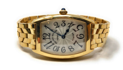 Franck Muller Cintree Curvex Yellow Gold