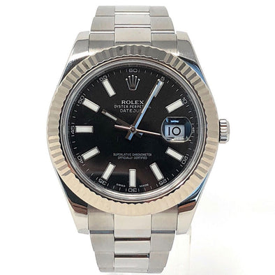 ROLEX DATEJUST STAINLESS STEEL 116334 - The Jewels of Beverly Hills