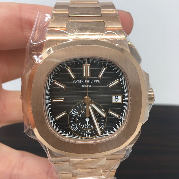 Patek Philippe Nautilus Rose Gold 5980/1R-001 - The Jewels of Beverly Hills