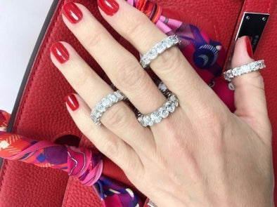 Eternity Bands - The Jewels of Beverly Hills