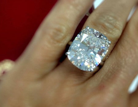 Cartier Cut Diamond Ring - The Jewels of Beverly Hills
