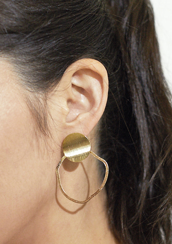 Geo Ring Earrings