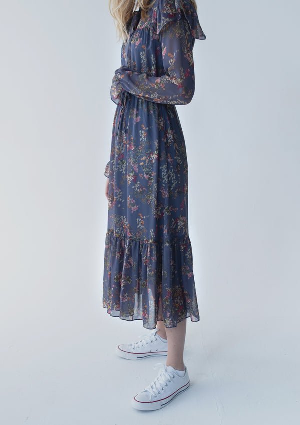 Freesia Floral Dress
