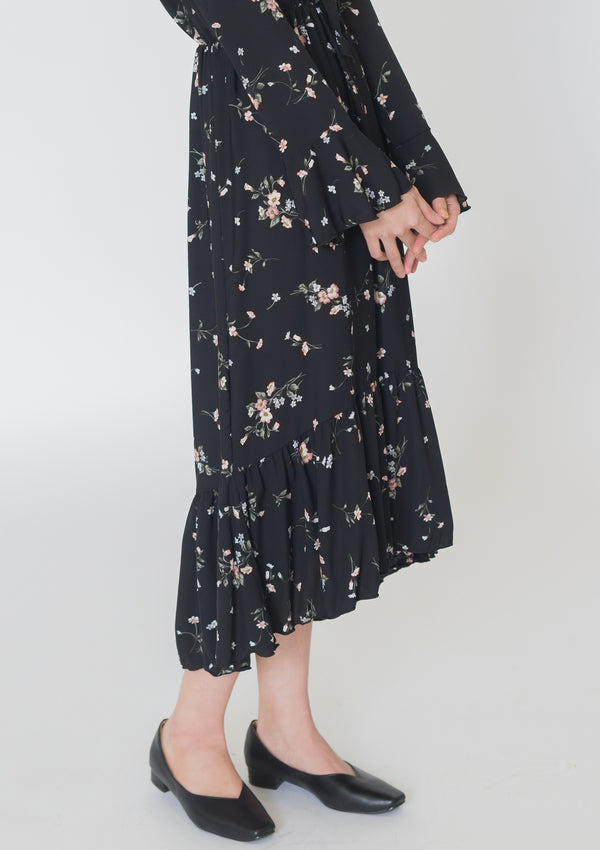 Betti Floral Print Dress